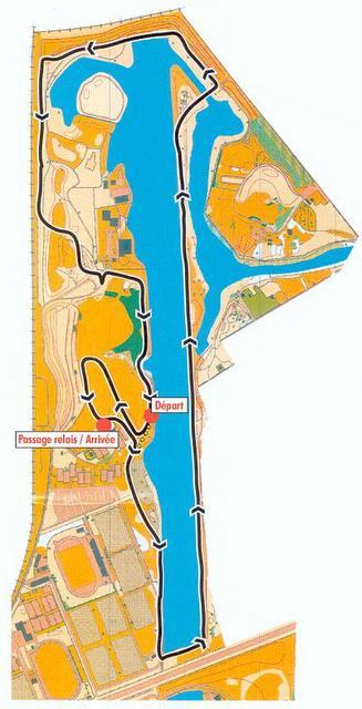 R cit de la course marathon relais du val de marne 2006 for 94 castor eau