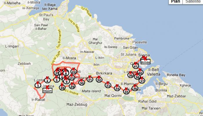 Image result for marathon de Malte
