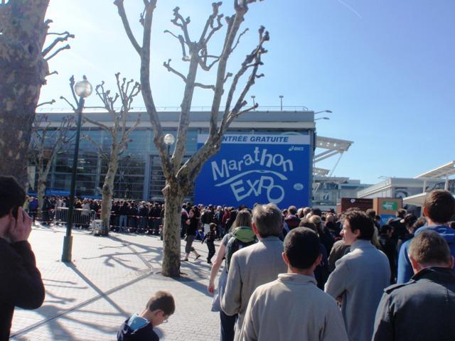 R cit de la course marathon de paris 2010 par crocs man - Metro gare de lyon porte de versailles ...